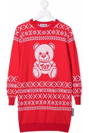 Moschino Teddy Bear knit jumper dress