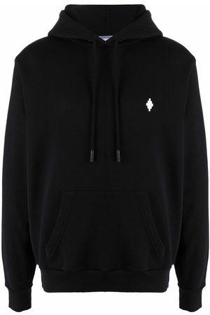 Marcelo Burlon County of Milan Embroidered cross logo hoodie