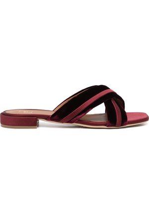 MALONE SOULIERS Women Sandals - Velvet-strap sandals