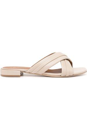 MALONE SOULIERS Women Sandals - Gavi criss-cross sandals - Grey