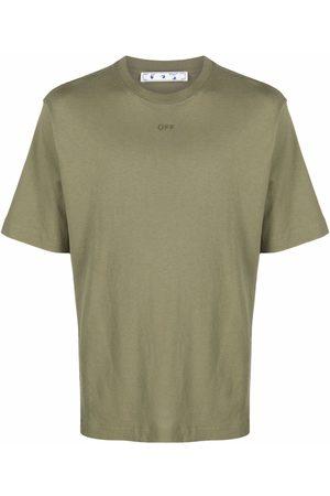 Off-White Arrow-print cotton T-shirt