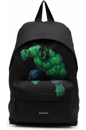 Balenciaga The Hulk-print Explorer backpack