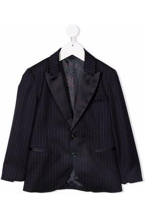 Brunello Cucinelli Pinstripe single-breasted blazer