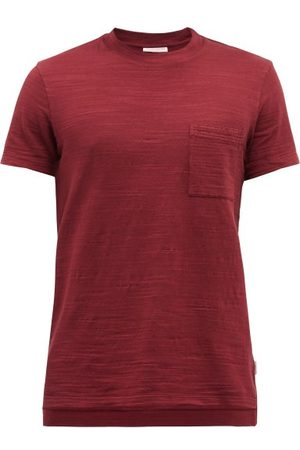 Orlebar Brown Sammy Cotton-slub T-shirt - Mens - Dark