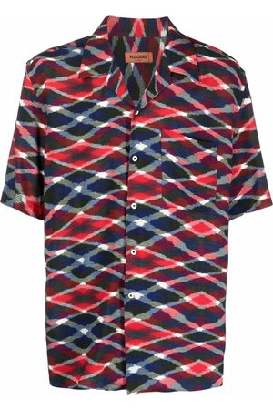 Missoni Men Short sleeves - Geometric-print short-sleeved shirt