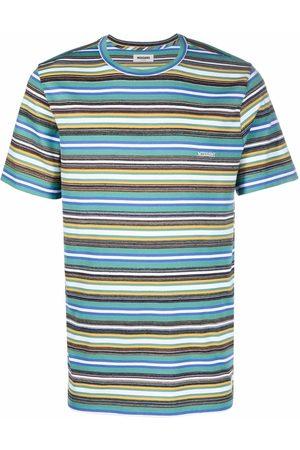 Missoni Men Short Sleeve - Striped short-sleeved T-shirt