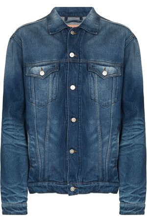 Y / PROJECT Faded wire denim jacket