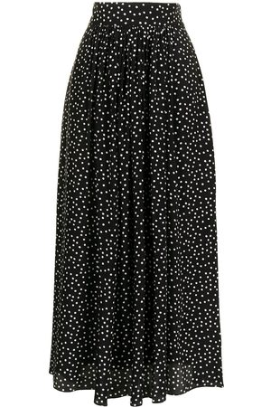 Cubus Women Printed Skirts - Mollie polka-dot print silk skirt