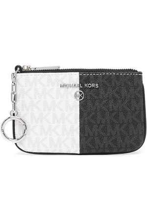 Michael Kors Women Purses - Monogram-print key card case