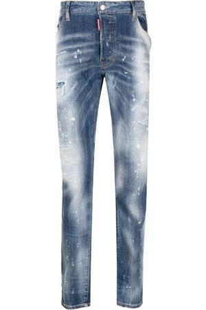 Dsquared2 Men Slim - Faded slim-cut jeans