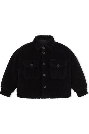 Dolce & Gabbana Boys Coats - Button-up teddy coat