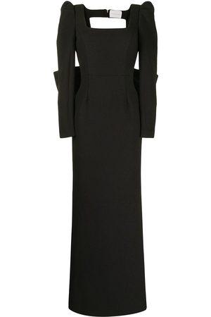 Rebecca Vallance Women Casual Dresses - Monique oversize-bow gown
