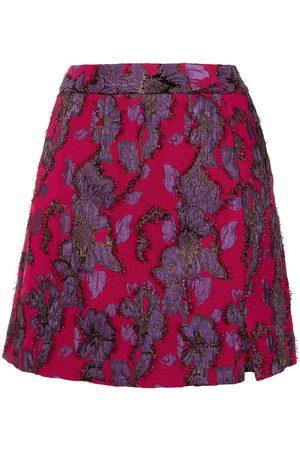 Rebecca Vallance Women Mini Skirts - Kassia embroidered mini skirt