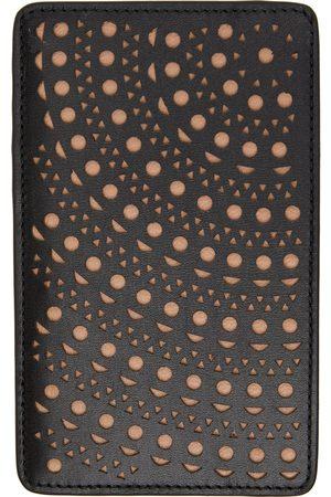 Alaïa Women Wallets - Black Large Vienne Circulaire Card Holder