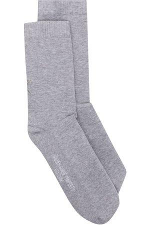 Golden Goose Socks - Star-print socks - Grey