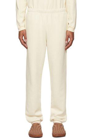 Les Tien Men Sweats - Off-White Heavyweight Classic Lounge Pants