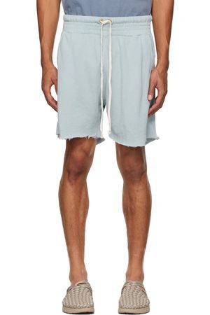 Les Tien Men Shorts - Blue Lightweight Yacht Shorts