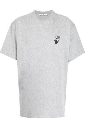 OFF-WHITE Men Short Sleeve - Logo-print short-sleeve T-shirt - Grey
