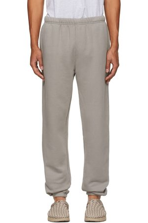 Les Tien Men Sweats - Taupe Heavyweight Classic Lounge Pants