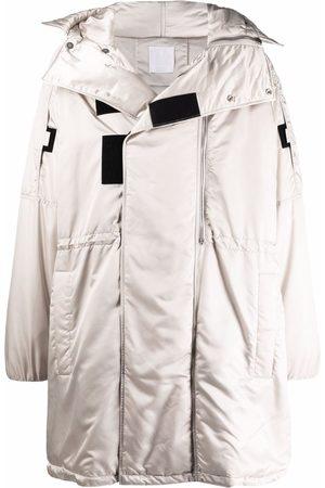Givenchy Men Parkas - Padded parka coat - Grey