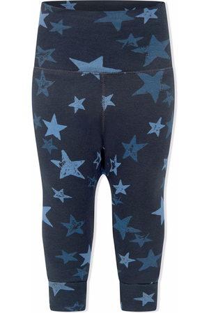 Molo Baby Leggings - Organic cotton star-print leggings