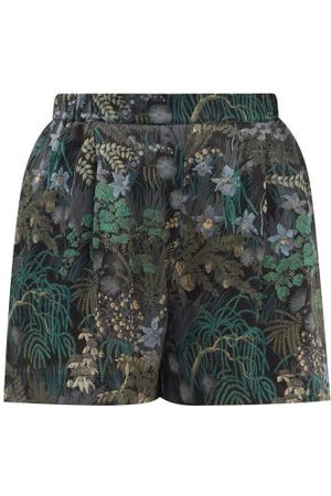 CARINE GILSON Women Pajamas - Floral-print Silk-chiffon Pyjama Shorts - Womens - Multi