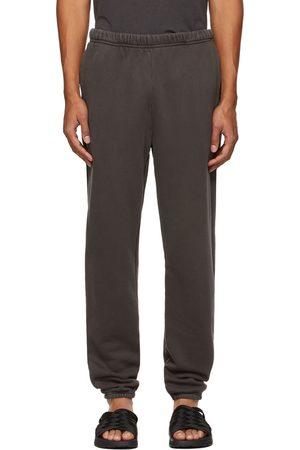 Les Tien Men Sweats - Grey Heavyweight Classic Lounge Pants