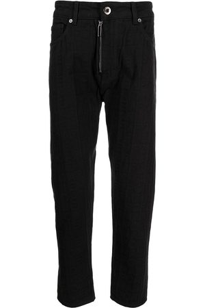 Emporio Armani Men High Waisted - High-wiasted slim-fit jeans