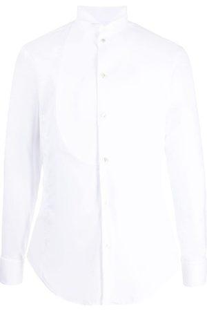 Armani Men Long sleeves - Long-sleeved cotton shirt
