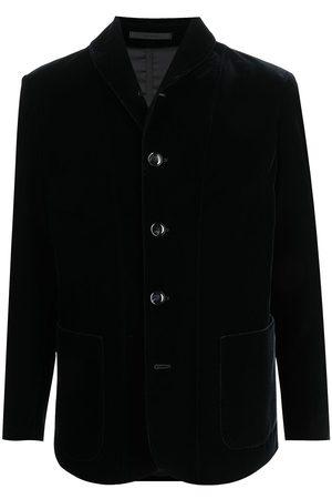 Armani Single-breasted velvet blazer