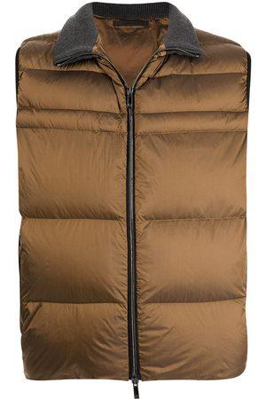 Armani Zip-up padded waistcoat