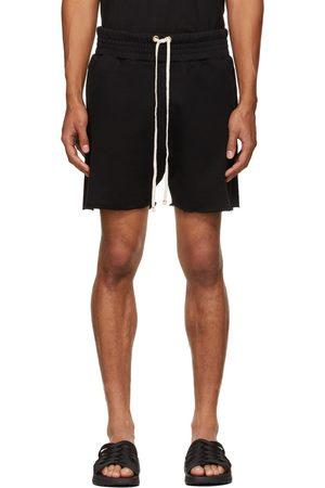 Les Tien Men Shorts - Black Heavyweight Yacht Shorts