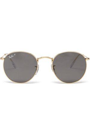 Ray Ban - Round Metal Sunglasses - Mens