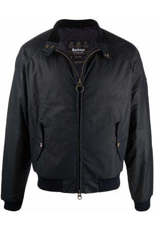 Barbour Men Outdoor Jackets - Zip-up wax jacket