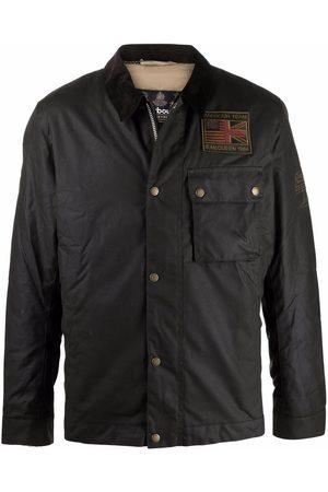 Barbour Men Outdoor Jackets - Collared wax jacket