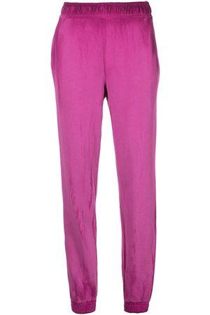 Cotton Citizen Tie-dye cotton-blend track trousers