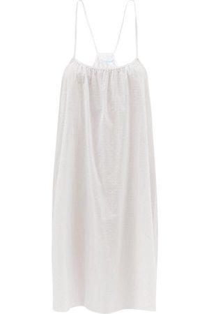 Loup Charmant Women Casual Dresses - Swiss Dot Organic-cotton Voile Slip Dress - Womens