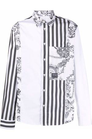 VERSACE Men Shirts - Baroque-print shirt