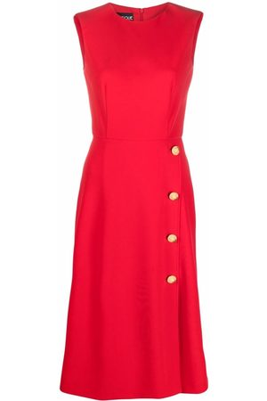 Moschino Side-button detail dress
