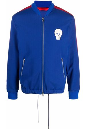 Alexander McQueen Skull patch sports jacket