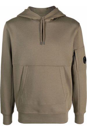 C.P. Company Men Hoodies - Panelled cotton hoodie