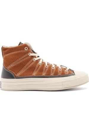 Converse Men Sneakers - Cosy Granola Chuck 70 Linen And Canvas Trainers - Mens - Multi