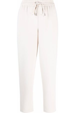 THEORY Women Sweatpants - Drawstring-waist track pants - Neutrals