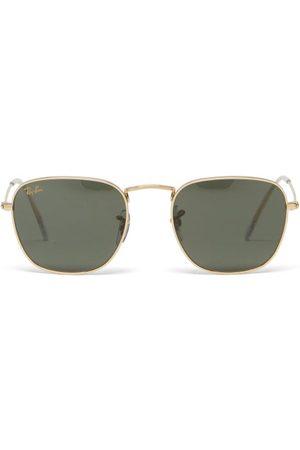 Ray Ban - Frank Square Metal Sunglasses - Mens