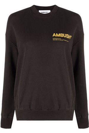 AMBUSH Women Sweatshirts - Logo-print sweatshirt