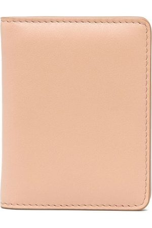Maison Margiela Four-stitches keyring wallet - Neutrals