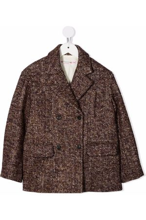 BONPOINT Girls Coats - Double-breasted tailored coat
