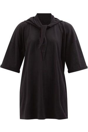 MM6 MAISON MARGIELA Sailor-tie Cotton-jersey T-shirt Dress - Womens