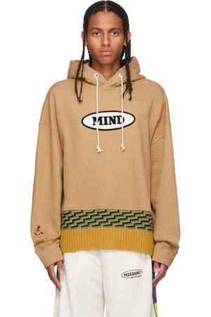 Palm Angels Beige Missoni Edition Knit 'Mind' Hoodie