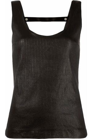 Givenchy Women Tank Tops - Open-back sleeveless top